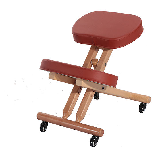 Master Comfort Plus Wooden Kneeling Chair PREFECT FOR Home, Office & Meditation