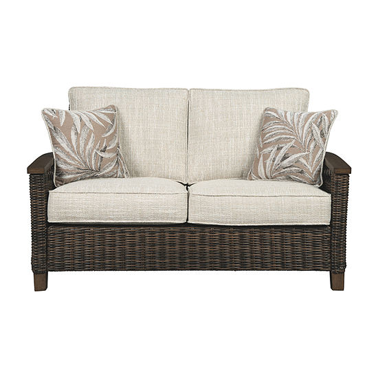 Outdoor By Ashley Paradise Trail Patio Sofa