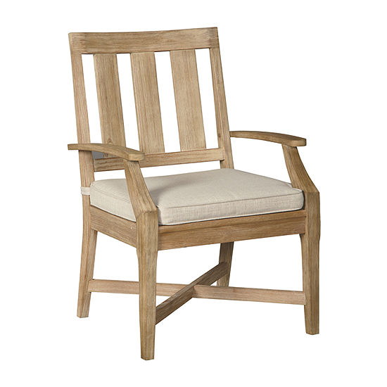 Outdoor By Ashley Clare View 2 Pc Patio Dining Chair