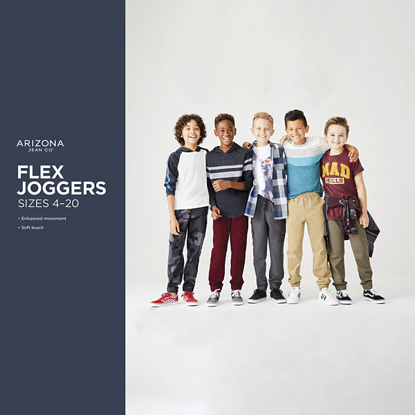 Arizona Boys Woven Jogger Pant - Preschool / Big Kid
