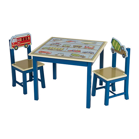 Moving All Around Table & Chairs Set