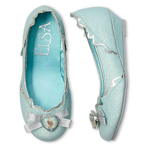 Disney Collection Frozen Elsa Costume Shoes - Girls