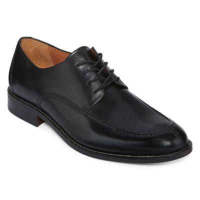 Stafford® Addison Mens Leather Dress Oxfords