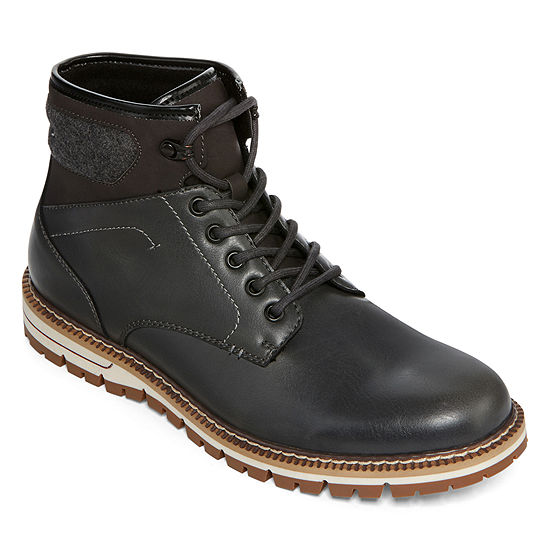 JF J. Ferrar® Kemper Mens Lace-Up Boots
