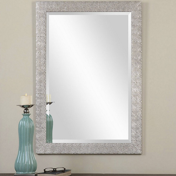 Porcius Silver Rectangle Mirror