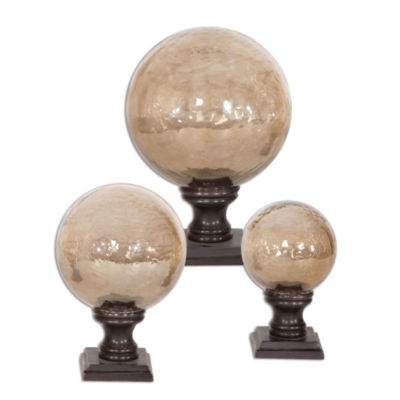 Set of 3 Lamya Finials