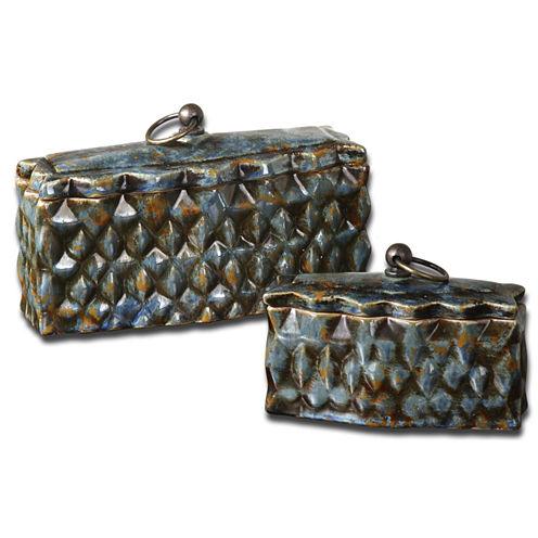 Set of 2 Neelab Decorative Boxes