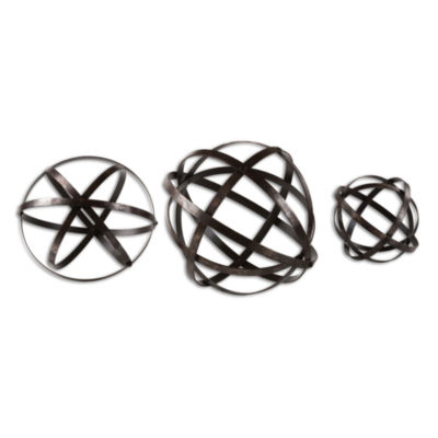 Set of 3 Stetson Spheres Accessories