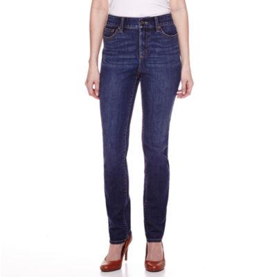 St. John's Bay Womens Straight Leg Jean