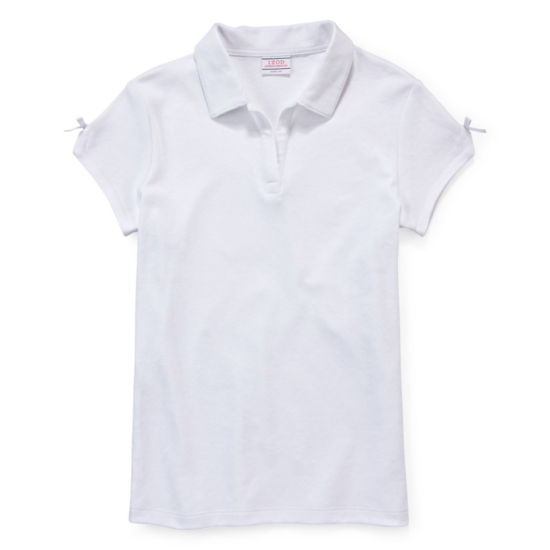 IZOD® Short-Sleeve Bow Polo - Preschool Girls 4-6x