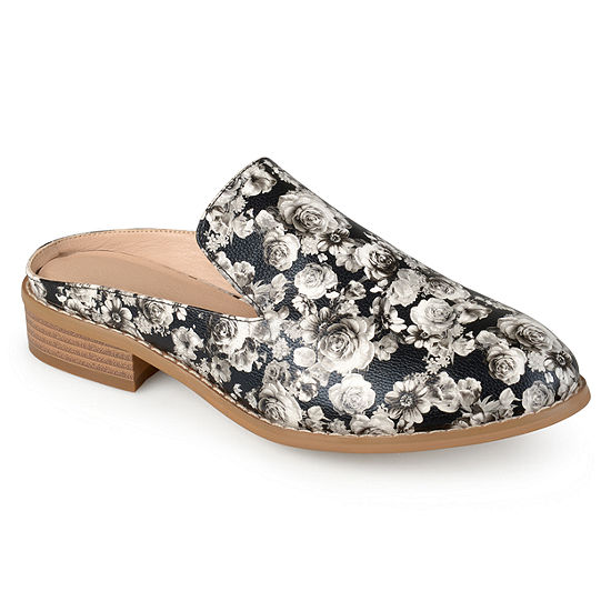 Journee Collection Womens Charly Mules Pull-on Round Toe