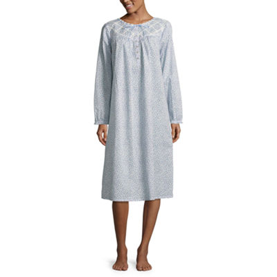 Adonna Long Sleeve Woven Nightgown