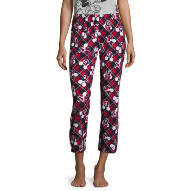 Disney Mickey Mouse Jersey Pajama Pants-Juniors