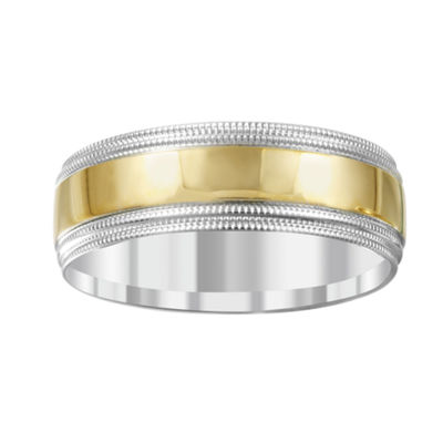 Mens 14K Gold Band