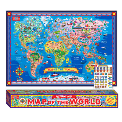 Geography 3-pc. Discovery Toy