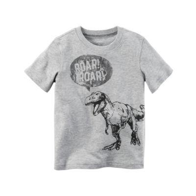 Carter's Short Sleeve Graphic T-Shirt-Baby Boys