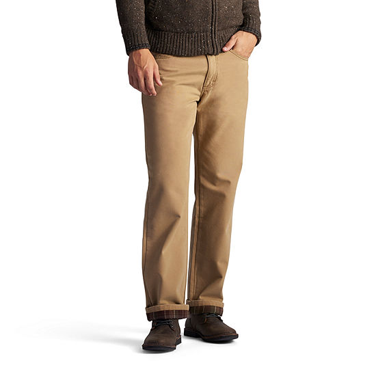 Lee Relaxed Fit Lined Straight Leg Jeans