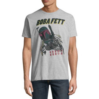 Short Sleeve Star Wars Tv + Movies Bobba Fett  Graphic T-Shirt