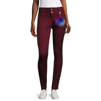 Tinseltown Skinny Fit Slim Pants-Juniors