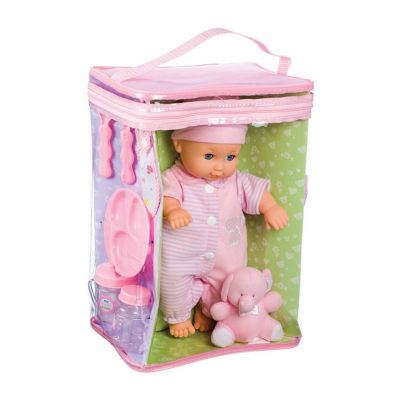 "Toysmith Deluxe Baby Ensemble 11.5"" Doll Playset"""