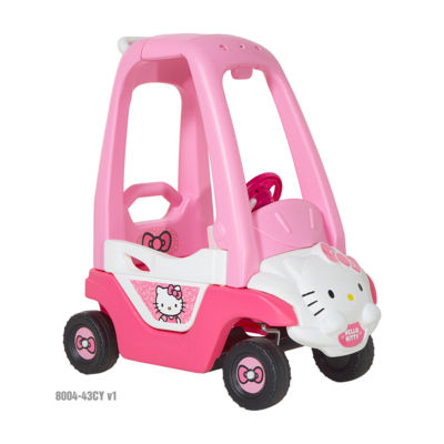 Hello Kitty Ride-On Car