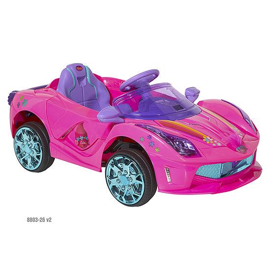 Dynacraft Trolls 6V Super Coupe Ride-On for Kids