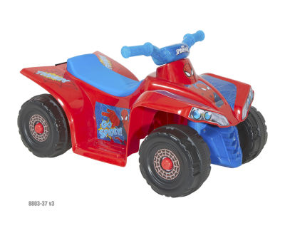 Spider-Man Ride-On Quad