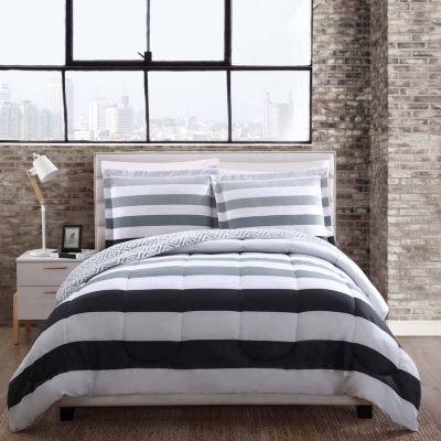 Style 212 Newport Reversible Comforter Set