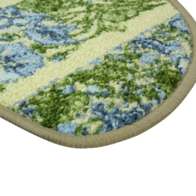 Bacova Guild Classic Berber Glorious Morning Printed Wedge Rugs