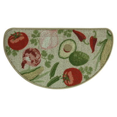 Bacova Guild Classic Berber Mexican Veggie Printed Wedge Rugs
