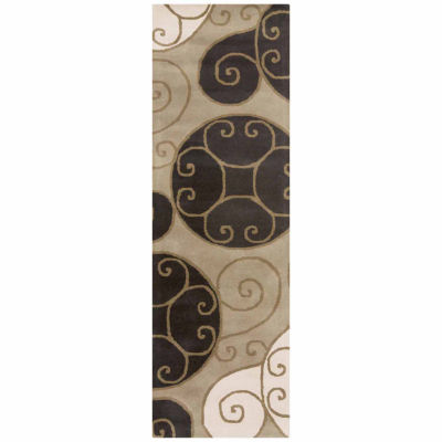 Decor 140 Biltmore Hand Tufted Rectangular Indoor Runner