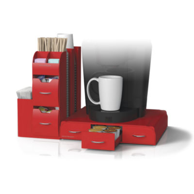 2-Piece Coffee Drawer and Organizer Unit