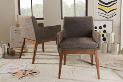 Baxton Studio Nexus Armchair