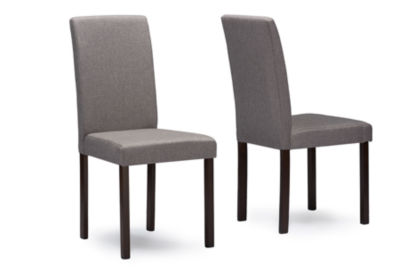 Baxton Studio Andrew Contemporary 2-pc. Side Chair