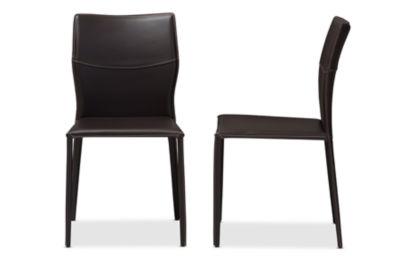 Baxton Studio Asper 2-pc. Side Chair