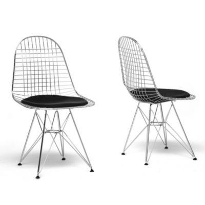 Baxton Studio Avery 2-pc. Side Chair