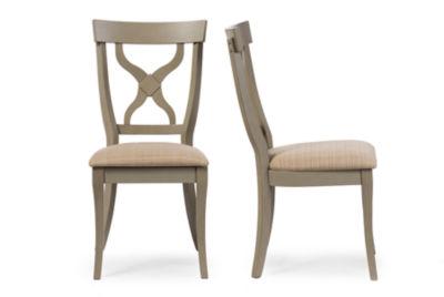 Baxton Studio Balmoral 2 Pc. Side Chair