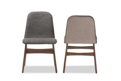 Baxton Studio Embrace 2-pc. Side Chair
