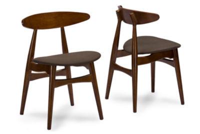 Baxton Studio Flamingo 2-pc. Side Chair