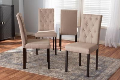 Baxton Studio Gardner 4-pc. Side Chair