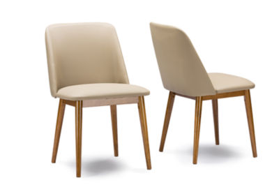 Baxton Studio Lavin 2-pack Side Chair