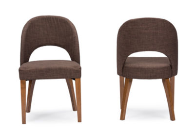 Baxton Studio Lucas 2-pc. Side Chair