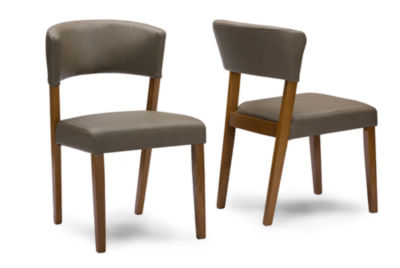 Baxton Studio Montreal 2-pack Side Chair