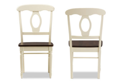 Baxton Studio Napoleon French Country 2-pc. Side Chair