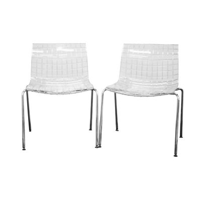 Baxton Studio Obbligato 2-pack Side Chair