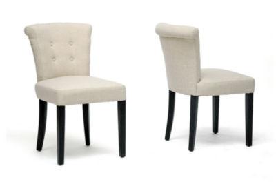 Baxton Studio Phillippa 2-pc. Side Chair