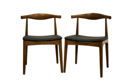Baxton Studio Sonore 2-pack Side Chair