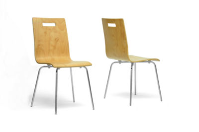 Baxton Studio Stockholm 2-pc. Side Chair