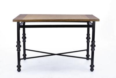 Baxton Studio Broxburn Wood-Top Dining Table