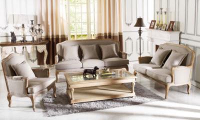 Baxton Studio Constanza 3-pc. Seating Set